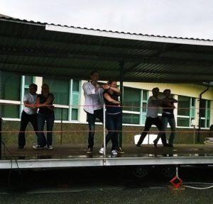 Noormarkun syysmarkkinat, Westie flash mob
